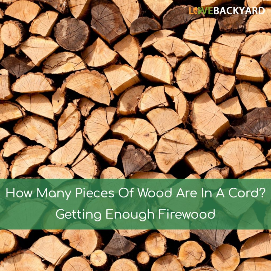 How Many Pieces Of Wood In A Cord