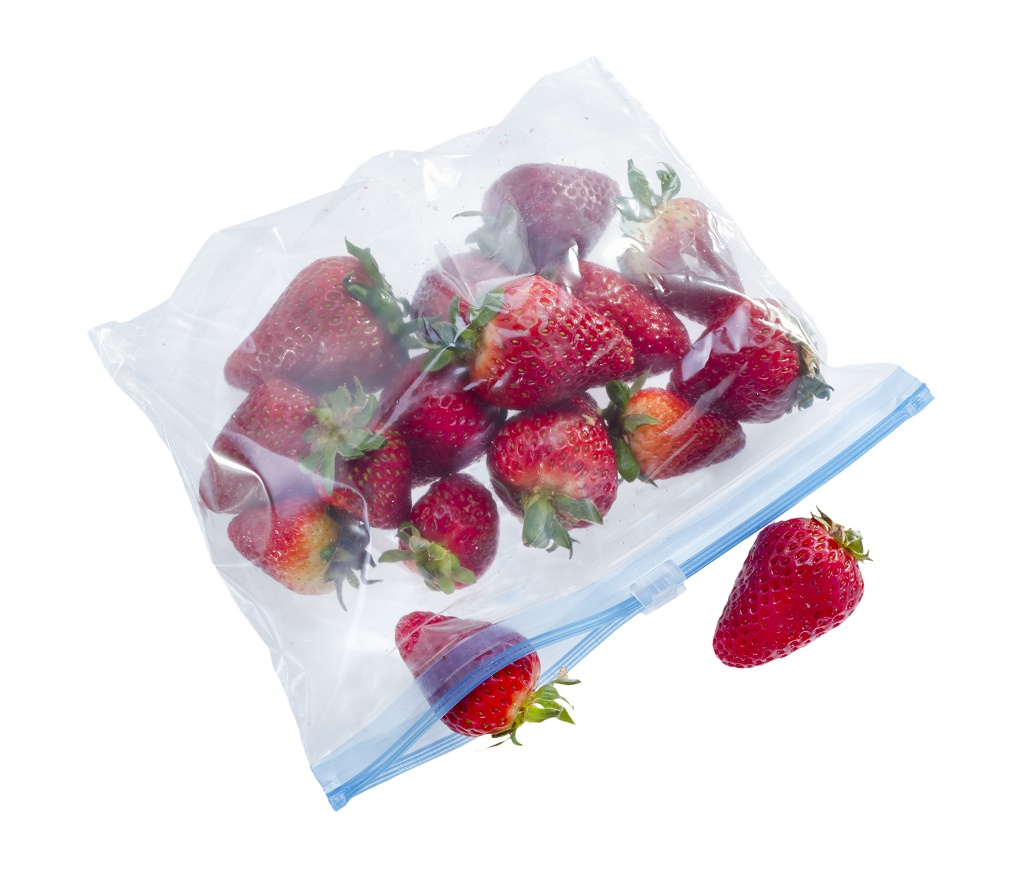 sealed plastic bag