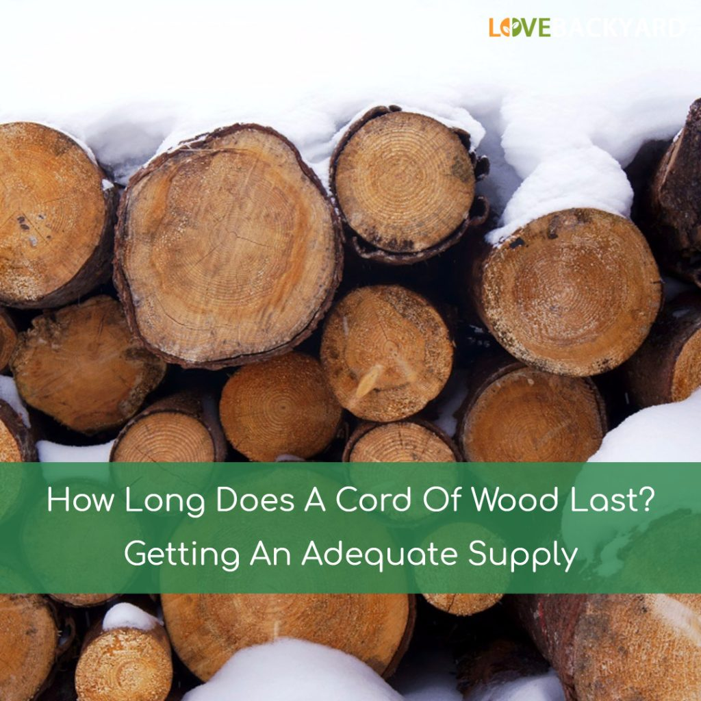 How Long Does A Cord Of Wood Last