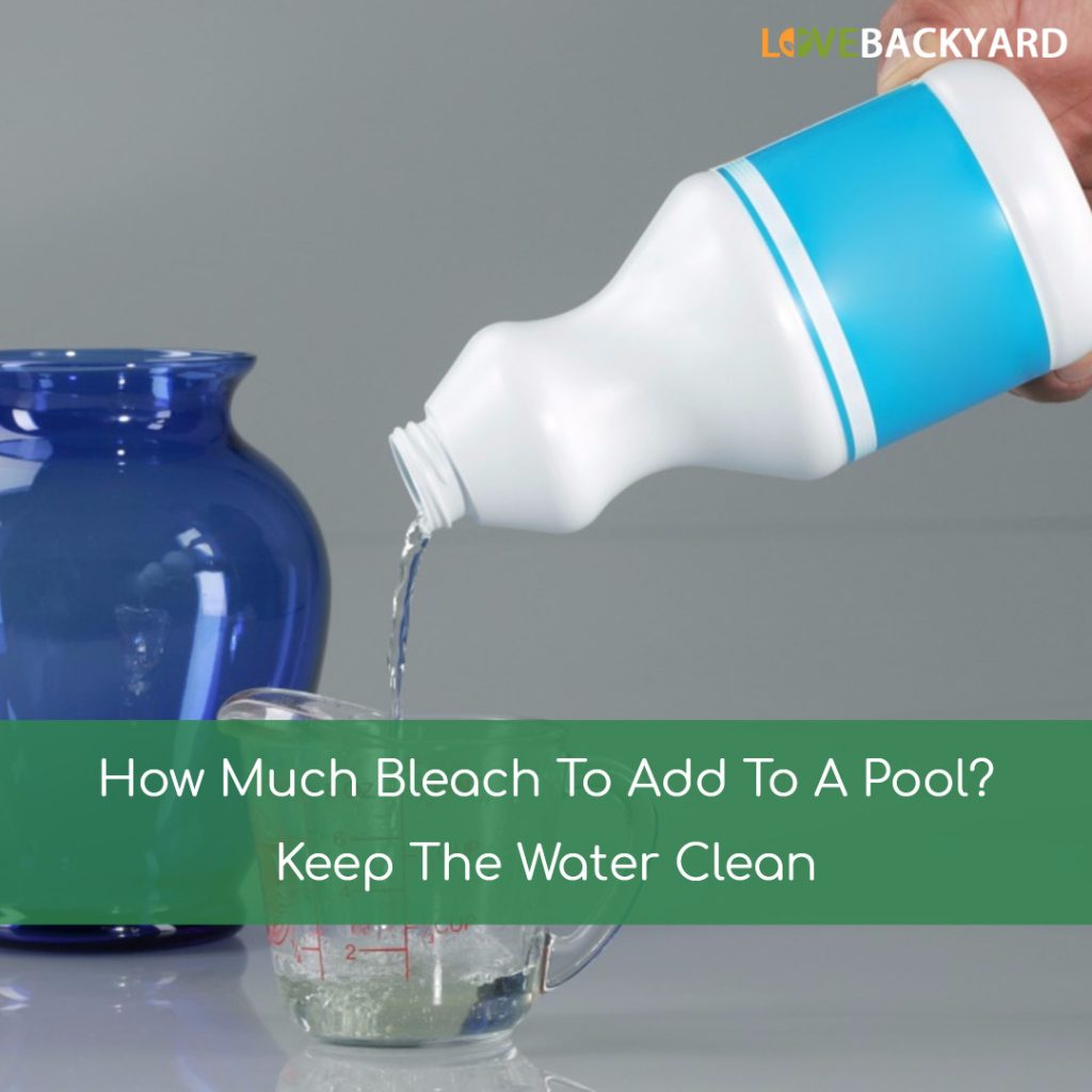 How Much Bleach To Add To A Pool
