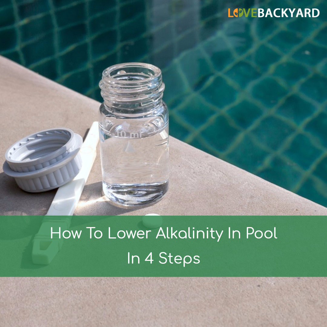 How to lower alkalinity in pool in 4 steps oct 2018 How to lower chlorine in swimming pool