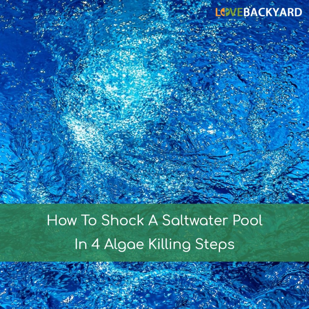 How To Shock A Saltwater Pool