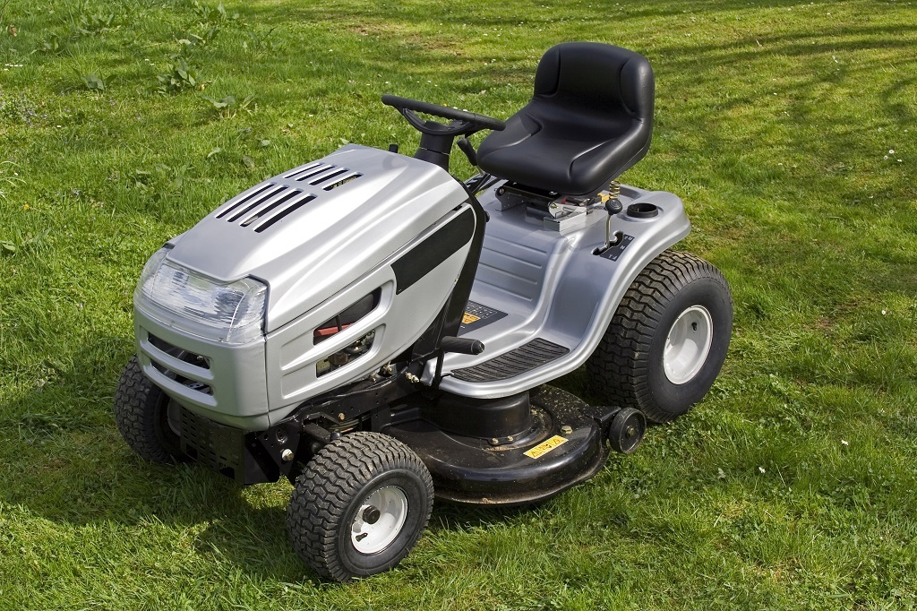 a compact tractor
