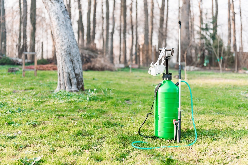 a garden sprayer