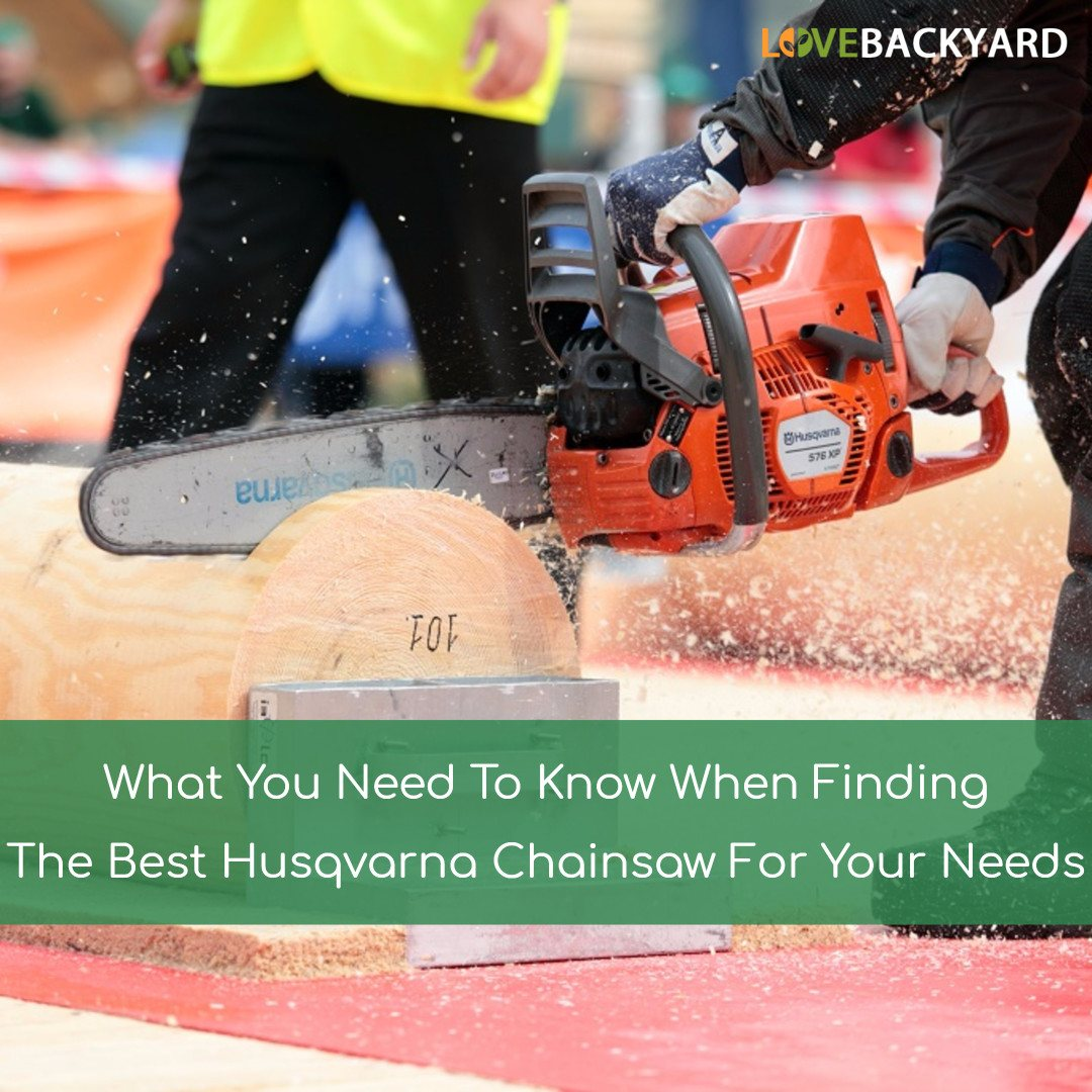 The 5 Best Husqvarna Chainsaws Reviews Ratings Feb 2019