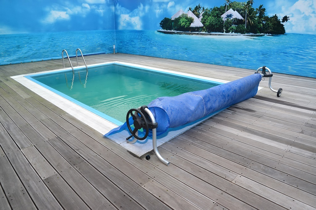 a pool cover