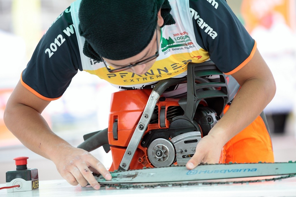a stihl chainsaw