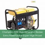 Champion 9000 Watt Generator Review