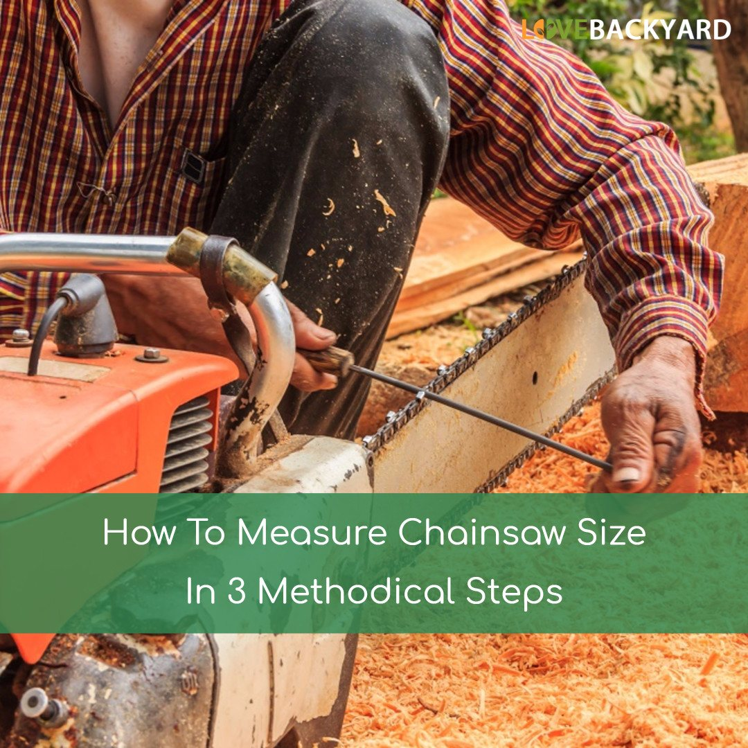 How To Measure Chainsaw Size