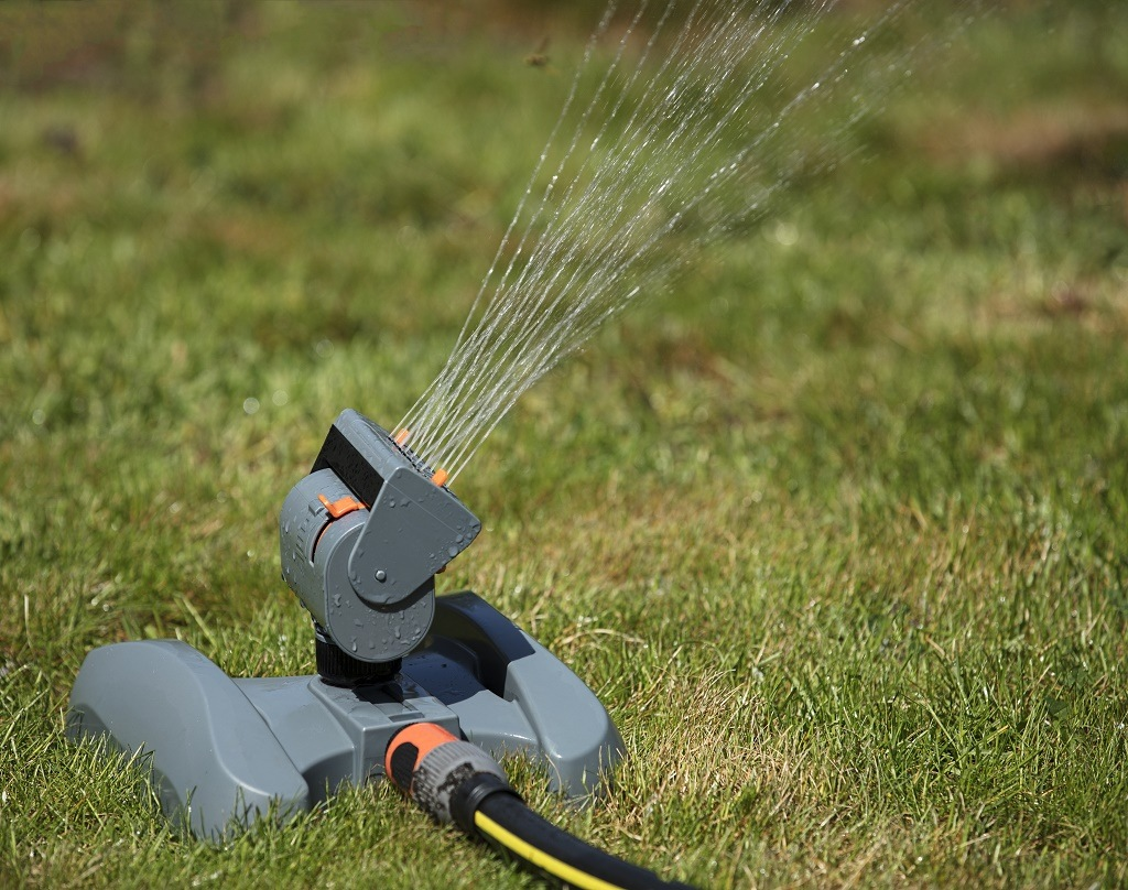 a small Oscillating Sprinkler