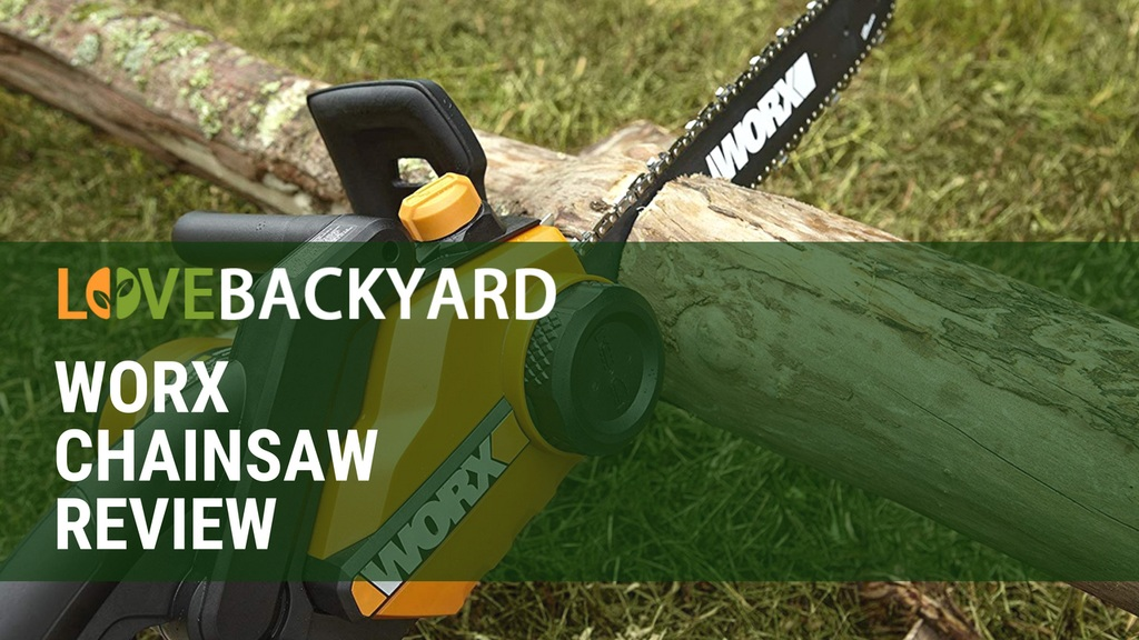 worx chainsaw features Automatic oil lubrication and built-in oil reservoir