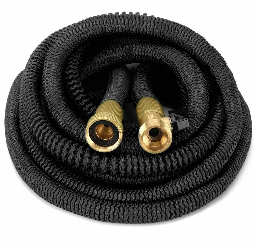 best garden hose features newly designed expandable water hose Black will Never tangle, twist, or kink, flexible and easy to handle and to storage