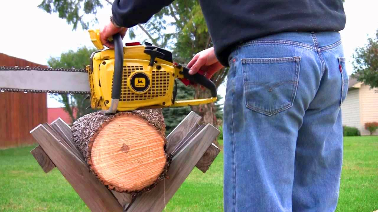 John Deere Chainsaw iconic chainsaw