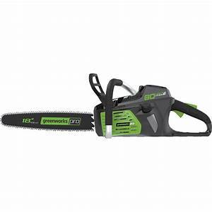 greenworks chainsaw review