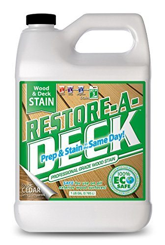 Restore-A-Deck Wood Stain for Decks, Fences, Wood Siding